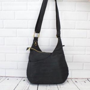 Travelon Black Crossbody Shoulder Bag